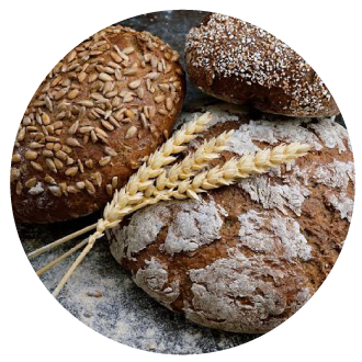 Pan, harinas y cereales masa madre organico artesanal blanco de caja bolillo  brioche baguette integral