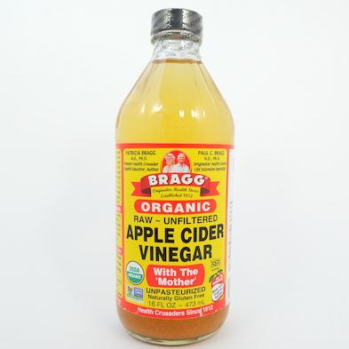Vinagre de manzana Bragg