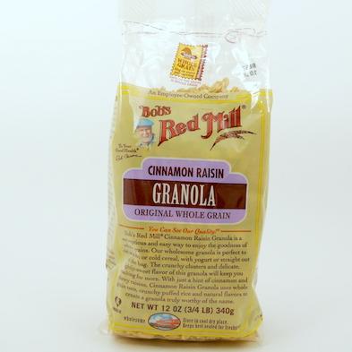 Granola Bob´s Red Mill canela y pasas